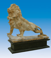 Marble Stone Lions