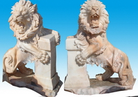 Stone Lions for Garden