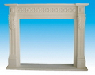 China Stone Fireplace