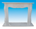 China Stone Fireplace Mantel