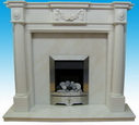 UK Stone Fireplace