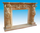 Statue Fireplace Mantels