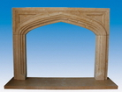 Fireplace Mantels in Stone
