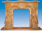 Sandstone Fireplace Mantel from China
