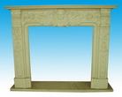 Sandstone Fireplace Mantel