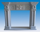 Fireplace Mantel of Marble