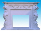 Marble Carved Fireplace Mantels