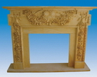 Sandstone Mantel from China