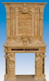 Sandstone Fireplace Mantels