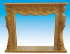 Fireplace Mantels Made of Sandstone