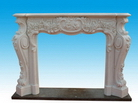 Fireplace Mantels Made of Marble