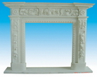 Limestone Fireplace Surrounds
