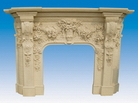 Carved Fireplace Surrounds from China