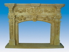 Carved Stone Mantels
