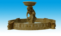 Carved Garden Fountains