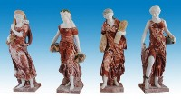 Colorful Catholic Sculptures
