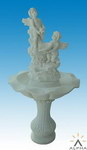 Carved Stone Water Fountain